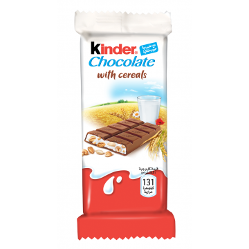 Barre chocolat céréale...