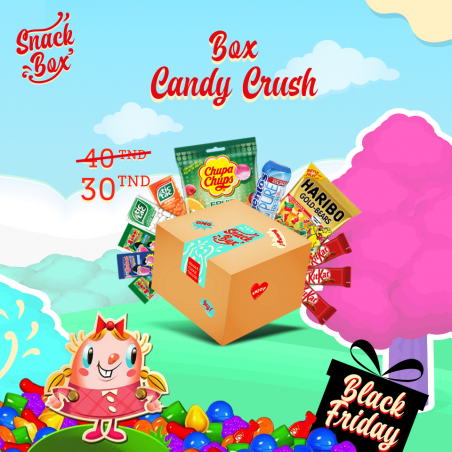 "Box ""Candy Crush Saga"""