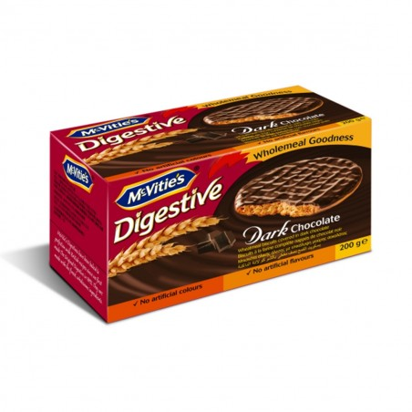 McVities 200gr Dark Chocolate Digestives
