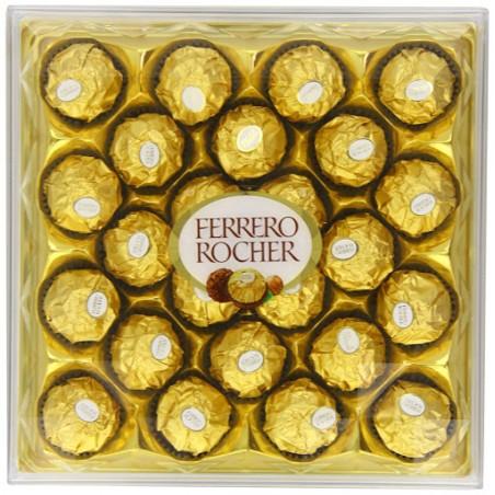 Coffret de 24 rochers chocolat ferrero