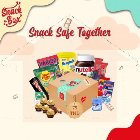 """Box """"Snack safe together"""""""