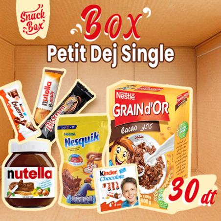 Box Petit'Dej single