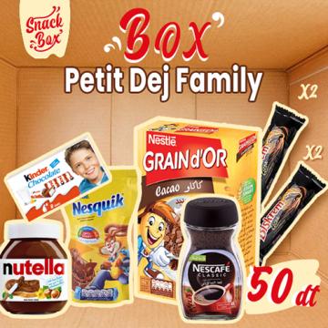 Box Petit'Dej Family