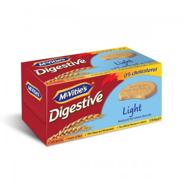 BISCUIT DIGESTIVE LIGHT 250G